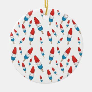 Ornamento De Cerâmica Teste padrão do pop da bomba