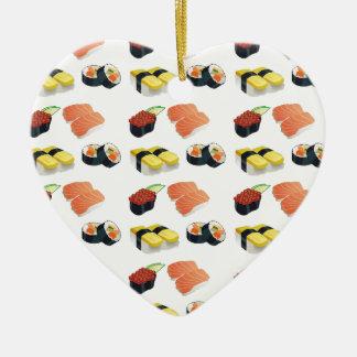 Ornamento De Cerâmica Teste padrão do sushi