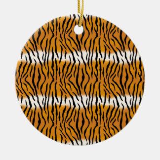Ornamento De Cerâmica Teste padrão do tigre