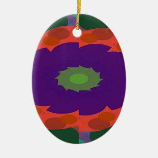 Ornamento De Cerâmica Teste padrão elegante do tesouro
