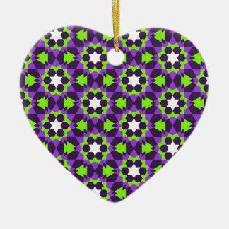 Ornamento De Cerâmica teste padrão geométrico islâmico