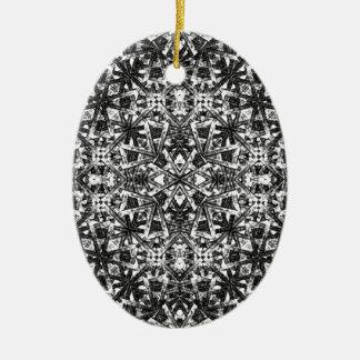 Ornamento De Cerâmica Teste padrão oriental moderno