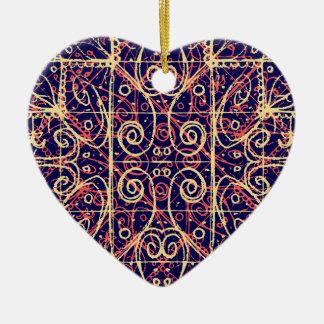 Ornamento De Cerâmica Teste padrão ornamentado tribal