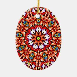 Ornamento De Cerâmica Teste padrão redondo