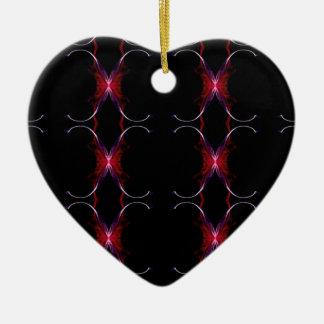 Ornamento De Cerâmica Teste padrão sem emenda do rosa quente de cinzas