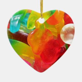 Ornamento De Cerâmica textura colorida da goma da geléia