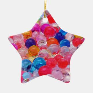 Ornamento De Cerâmica textura colorida das bolas da geléia