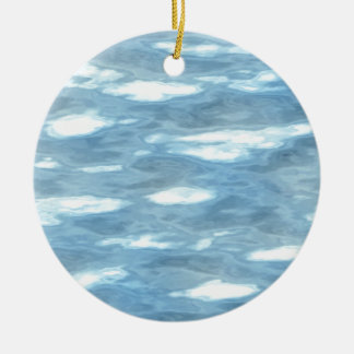 Ornamento De Cerâmica Textura da água