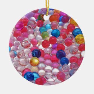 Ornamento De Cerâmica textura das bolas da geléia do colore