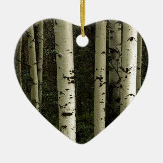 Ornamento De Cerâmica Textura de um retrato da floresta