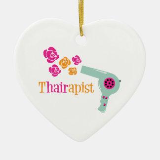 Ornamento De Cerâmica Thairapist