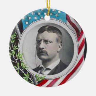 Ornamento De Cerâmica Theodore Roosevelt