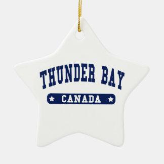 Ornamento De Cerâmica Thunder Bay
