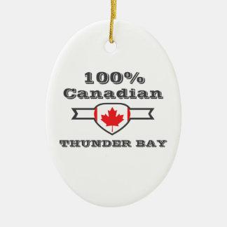 Ornamento De Cerâmica Thunder Bay 100%