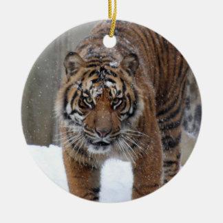 Ornamento De Cerâmica Tigre Damai de Smithsonian | Sumatran