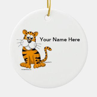 Ornamento De Cerâmica Tigre - homem