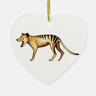 Ornamento De Cerâmica Tigre tasmaniano, Thylacine