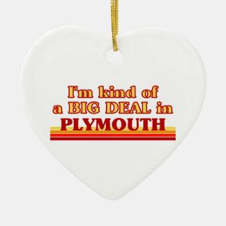 Ornamento De Cerâmica Tipo de I´m de uma grande coisa em Plymouth