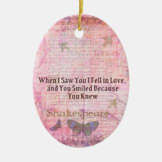 Ornamento De Cerâmica Tipografia romântica da arte das citações do amor