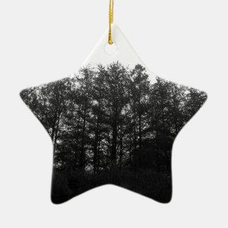 Ornamento De Cerâmica Toda a dormência de um inverno perpétuo