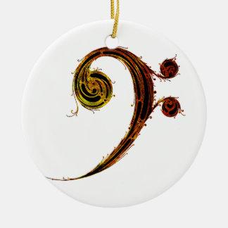Ornamento De Cerâmica Toda sobre esse baixo