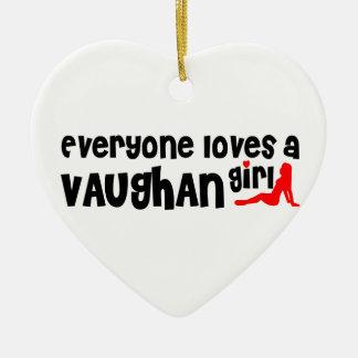 Ornamento De Cerâmica Todos ama uma menina de Vaughan