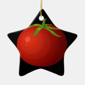 Ornamento De Cerâmica Tomate da comida do pulso aleatório