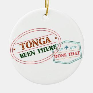 Ornamento De Cerâmica Tonga feito lá isso