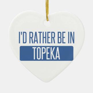 Ornamento De Cerâmica Topeka