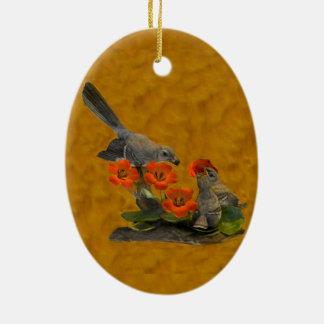 Ornamento De Cerâmica Tordo dos remedos (Arkansas, Florida, Mississippi,