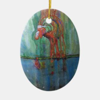 Ornamento De Cerâmica Torneira oxidado