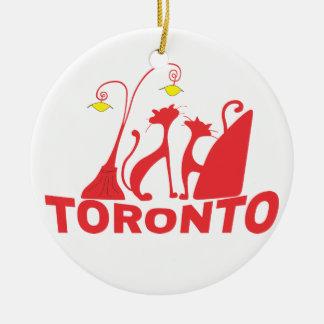 Ornamento De Cerâmica Toronto 1