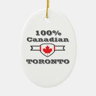 Ornamento De Cerâmica Toronto 100%