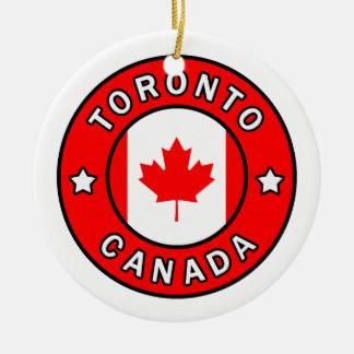 Ornamento De Cerâmica Toronto Canadá
