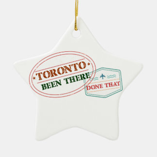 Ornamento De Cerâmica Toronto feito lá isso