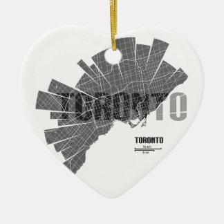 Ornamento De Cerâmica Toronto_Map
