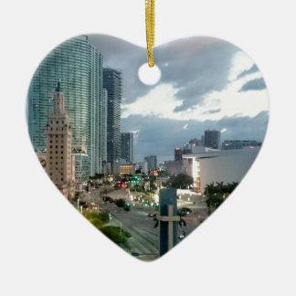Ornamento De Cerâmica Torre cubana da liberdade em Miami 2