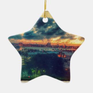 Ornamento De Cerâmica Torre cubana da liberdade em Miami 3