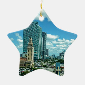 Ornamento De Cerâmica Torre cubana da liberdade em Miami 5