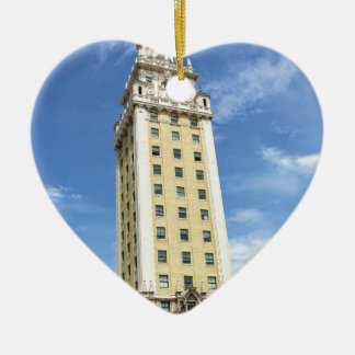 Ornamento De Cerâmica Torre cubana da liberdade em Miami 6