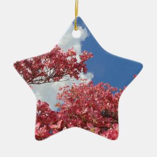 Ornamento De Cerâmica Torrente das flores