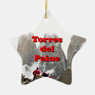 Ornamento De Cerâmica Torres del Paine: O Chile