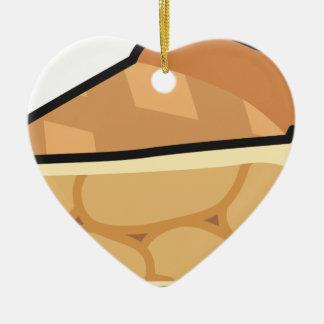 Ornamento De Cerâmica Torta de Apple