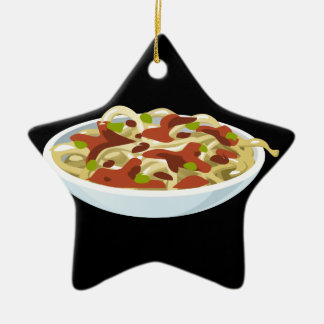 Ornamento De Cerâmica Tortellini do luxo da comida do pulso aleatório