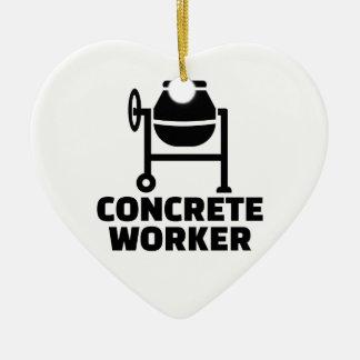 Ornamento De Cerâmica Trabalhador concreto