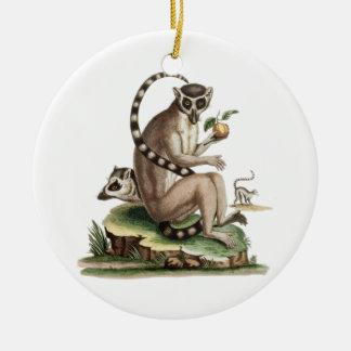 Ornamento De Cerâmica Trabalhos de arte do Lemur