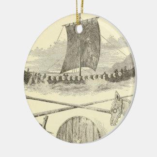 Ornamento De Cerâmica Trabalhos de arte e ilustrações de Viquingues do