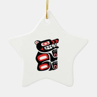 Ornamento De Cerâmica Trajeto da proteção