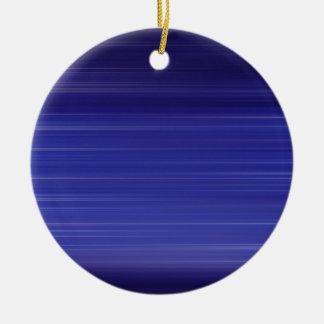 Ornamento De Cerâmica Trajeto de luzes azuis
