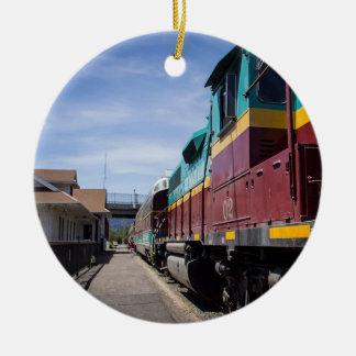Ornamento De Cerâmica Trem do Natal